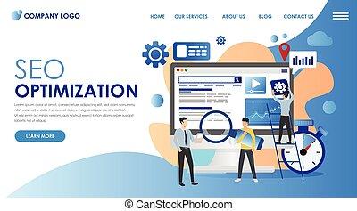 旗, seo, optimization, marketing.