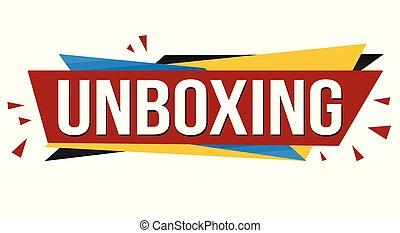 旗, unboxing, デザイン