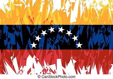 旗, venezuela.