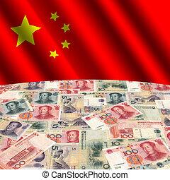 旗, yuan, 中国語