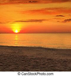 日の入海, 上に