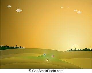 日の出, 自然