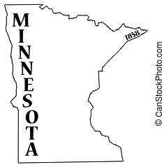 日付, 州, ミネソタ
