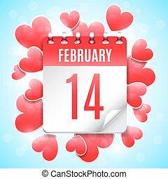 日付, 概念, 日, バレンタイン
