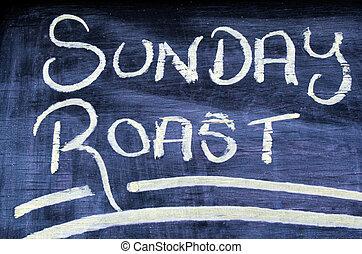 日曜日, 焼き肉