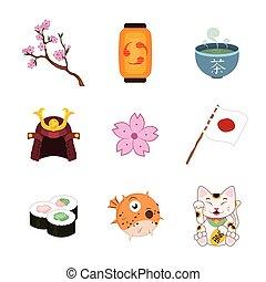 日本語, 要素, セット