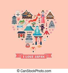 日本, コレクション, 印象