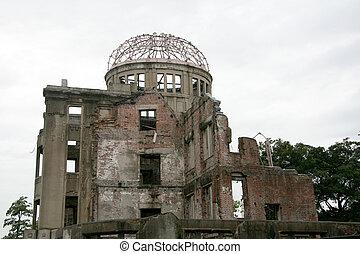 日本, ドーム, 原子爆弾, 広島