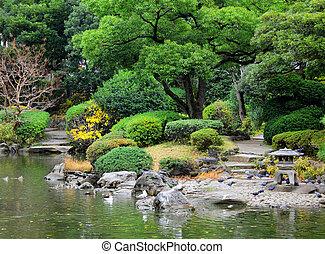 日本, 庭