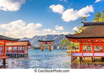 日本, 廣島,  miyajima
