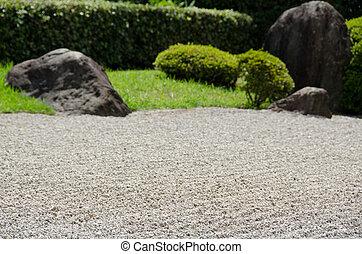 日本, 石, zen 庭, 仏教