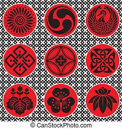 日本, 装飾, 要素