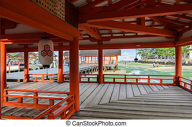 日本,  itsukushima, 聖地,  miyajima
