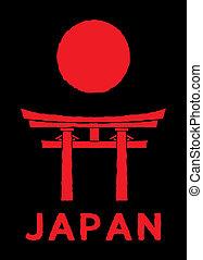 日本, -, torii のゲート