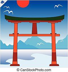 日本, torii のゲート