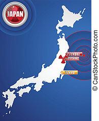 日本, tsunami, 2011, 災害, 地震