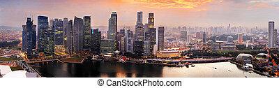 日没, シンガポール