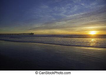 日没 浜, 太平洋
