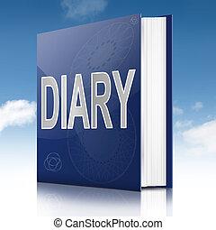 日記, book.