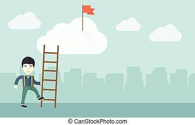 日語, 職業, ladder., 人