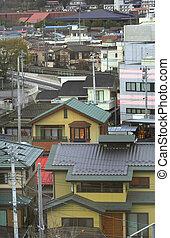 日语, 城市
