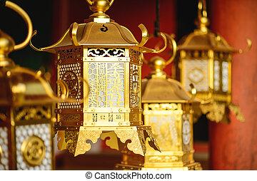 日语, 灯笼