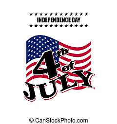 日, アメリカ, 独立