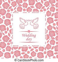日, カード, 結婚式