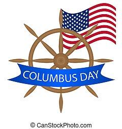 日, コロンブス, 舵輪