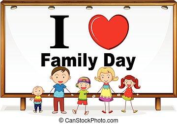 日, 家族