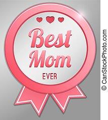 日, 母, 幸せ, 今までに, 最も良く, お母さん