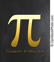 日, pi, 祝いなさい