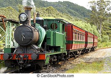 早く, 列車, 蒸気