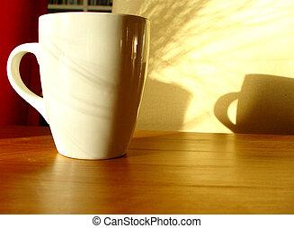早晨好, 杯子