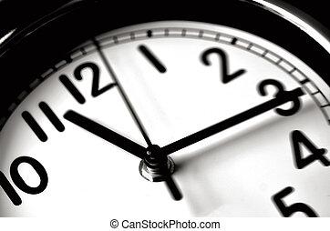 时间传递, 钟, 墙壁, -