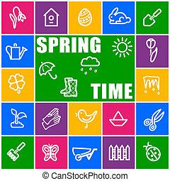 时间, 春天