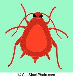 昆虫, 赤, アブラムシ