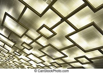 明り, 天井