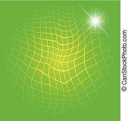 明るい緑, ∥で∥, 格子バックグラウンド