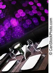 明るい, ヨーロッパ, 色, レストラン