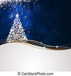 明るい, 冬の 木