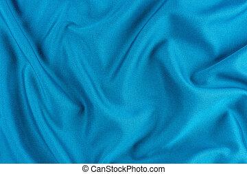明るい, 手ざわり, 青い羽布, folds.