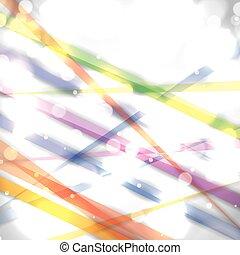 明るい, 抽象的, カラフルである, 白い背景