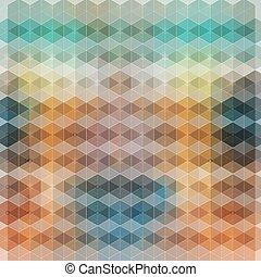 明るい, 抽象的, 背景, 多角形