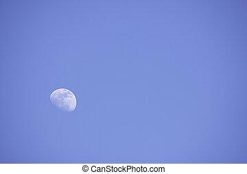 明るい, 月の空, 日光