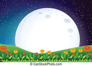 明るい, 満月
