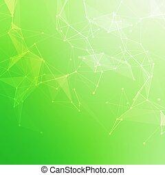 明るい, 科学, 抽象的, 青, データ, コミュニケーション, 低い, 分子, 接続, ベクトル, バックグラウンド。, polygonal, structure., 技術, poly