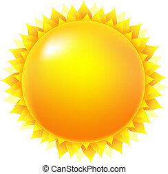 明亮的太阳