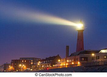 明亮, 燈塔, 橫樑