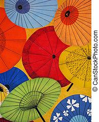 明亮, 鮮艷, 傘